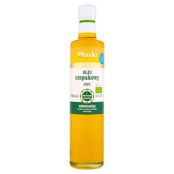 Eko olej z zarodków rzepaku uniwersalny- złoto polskie Eko olej z zarodków rzepaku