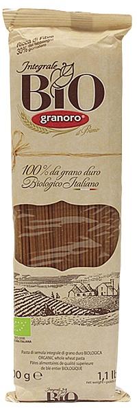 Makaron spaghetti pełnoziarniste bio