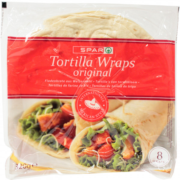 Spar tortilla wrap