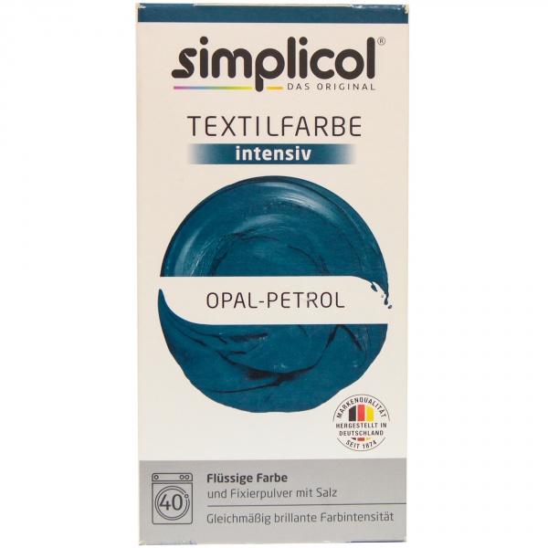 Simplicol barwnik do tkanin intensywny - opal petrol