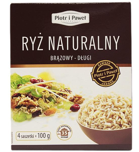 Ryż naturalny brązowy długi Piotr i Paweł