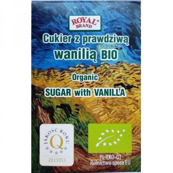 Cukier Royal Brand z prawdziwą wanilią bio