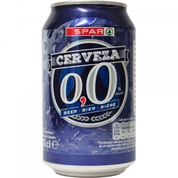 Spar piwo 0,0%
