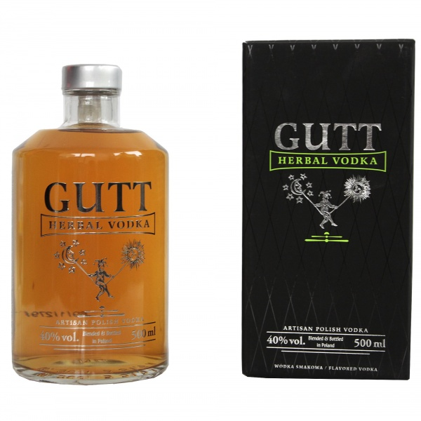 Gutt Vodka Herbal vergine bertolli