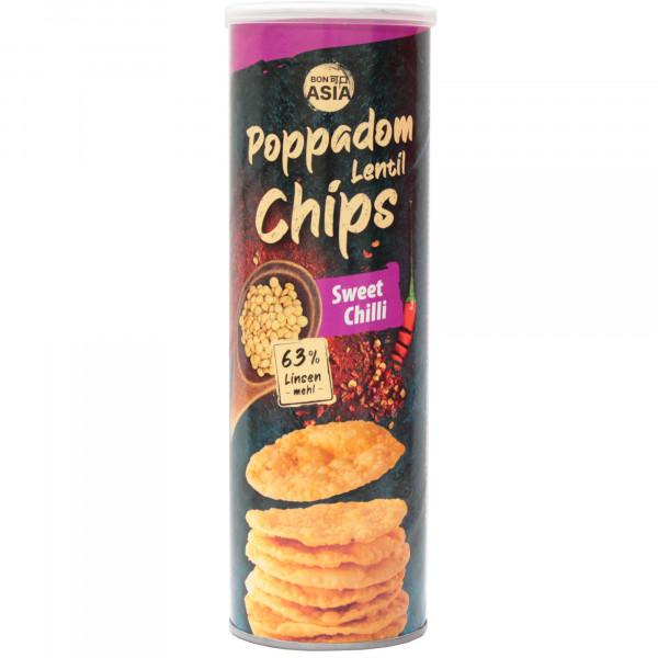 Chipsy bonasia poppadums z soczewicy sweet chili