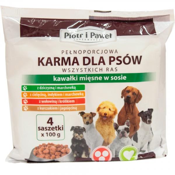 Karma mokra Piotr i Paweł Mix smaków