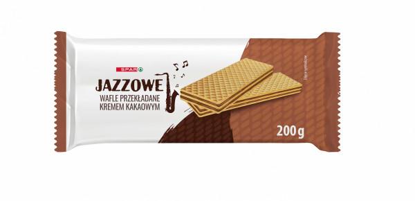 Spar wafle przekładane kremem kakaowym