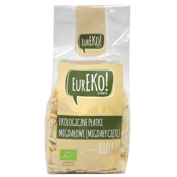 Płatki migdałowe (migdały cięte) bio - Eureko
