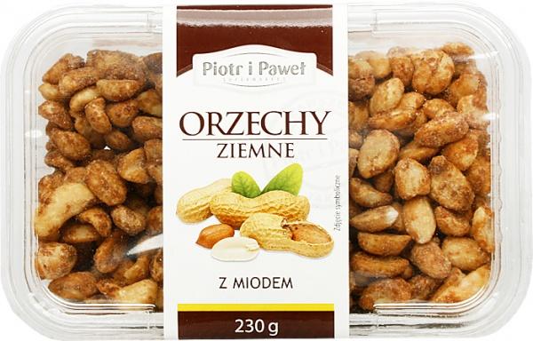 Orzechy ziemne z miodem Piotr i Paweł