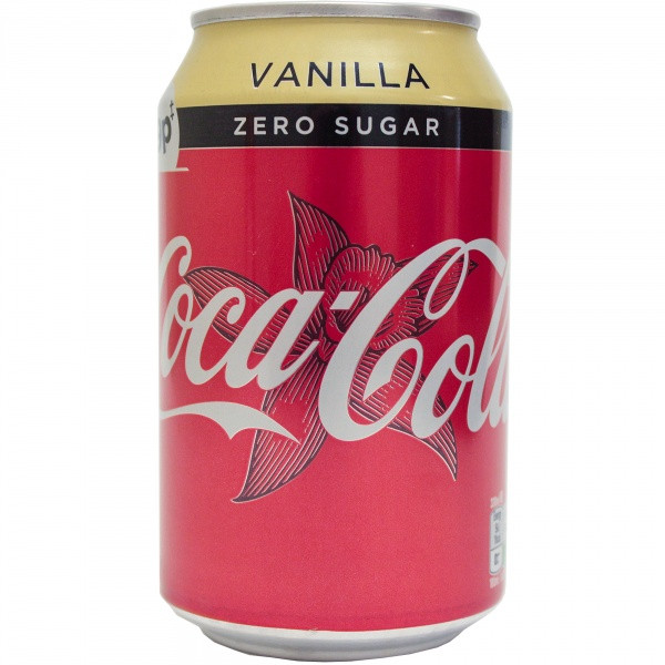 Napój gazowany Coca Cola vanilla