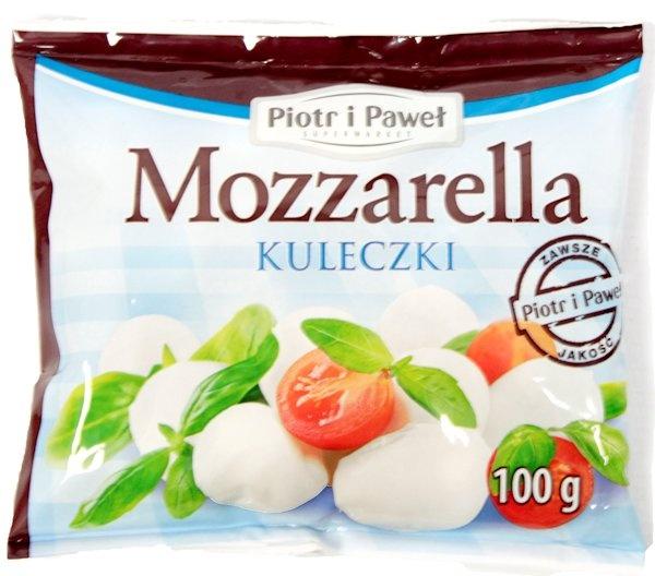 Mozzarella kuleczki Piotr i Paweł