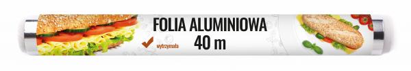 Spar folia aluminiowa 40m rolka