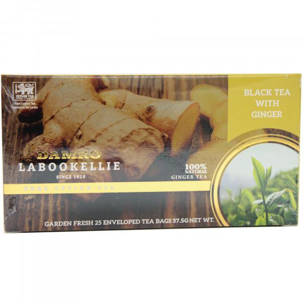 Herbata ekspresowa Damro ginger tea 25 torebek