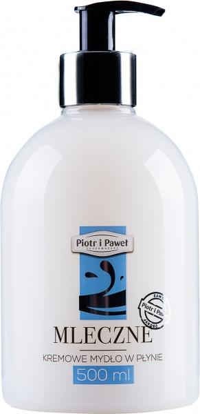 Mydło w płynie Piotr i Paweł mleczne kremowe