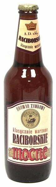 Piwo raciborskie mocne butelka