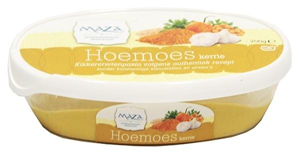 Hummus Maza z Curry