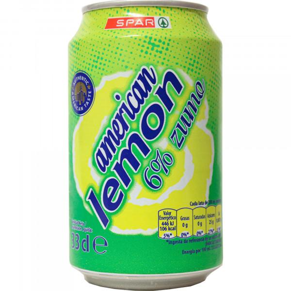 Spar napój American lemon 6% soku