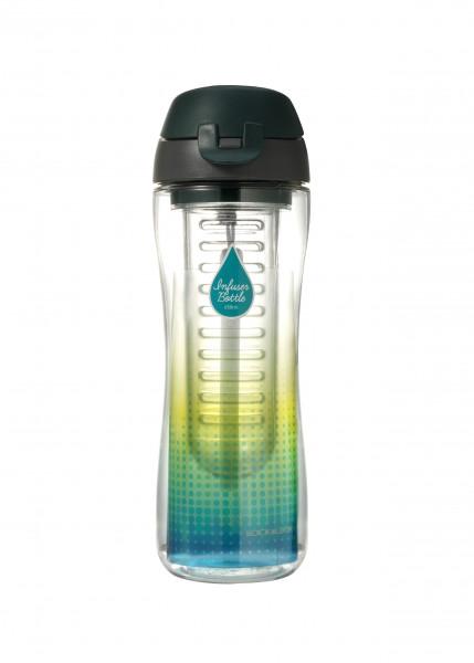 Butelka plastikowa z wkładem zielona 650ml