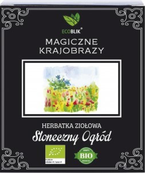 Herbata ecoblik ziołowa eksp.słoneczny ogród
