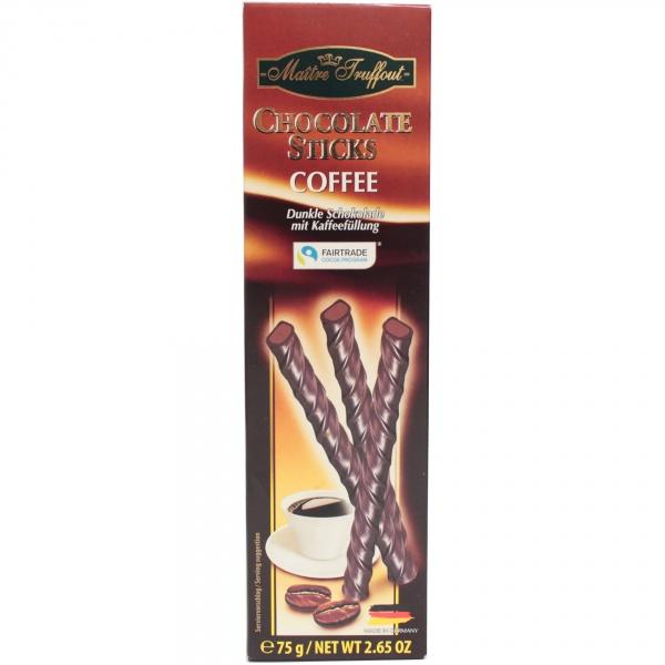 Paluszki czekoladowe z kawą