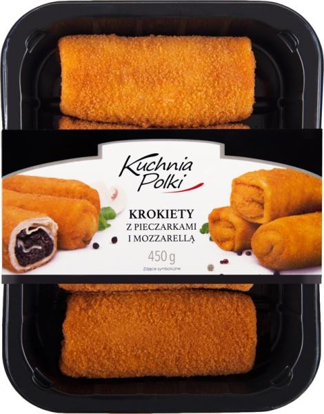 Krokiety mozzarella i pieczarka Kuchnia Polki