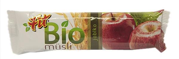 Baton musli jabłkowy fit bio