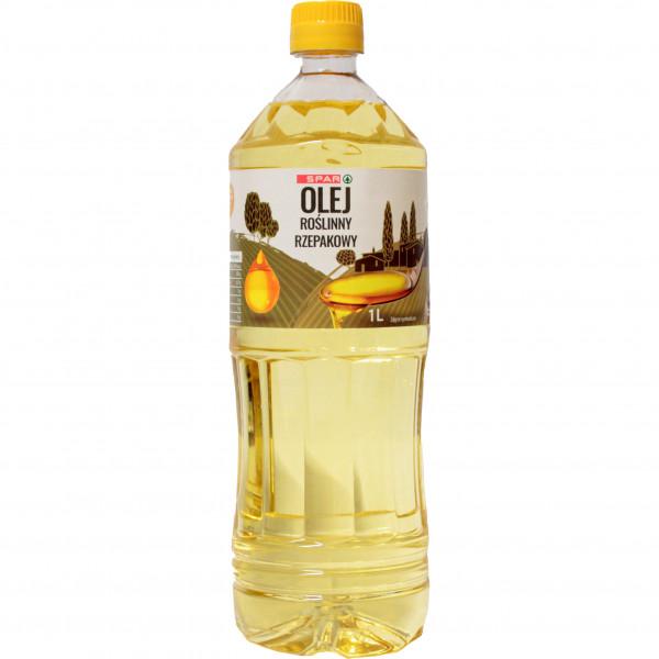 Spar olej rzepakowy rafinowany