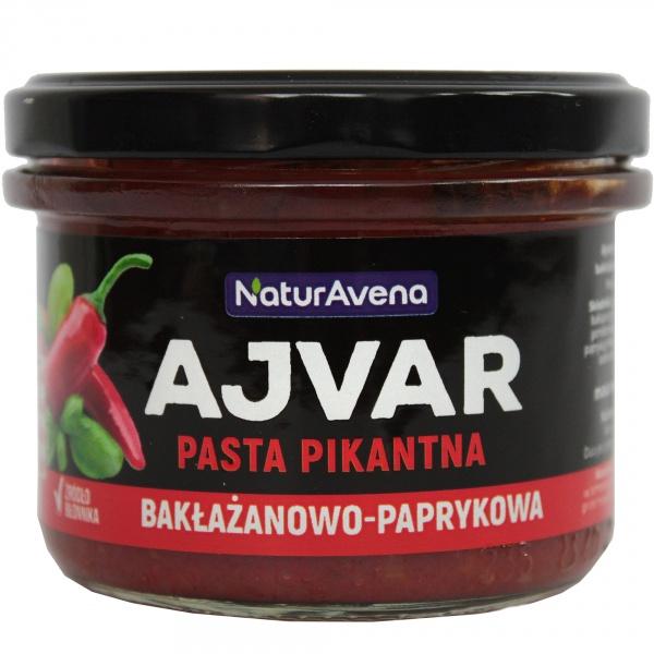 Ajvar pasta paprykowo bakłażanowa-pikantny