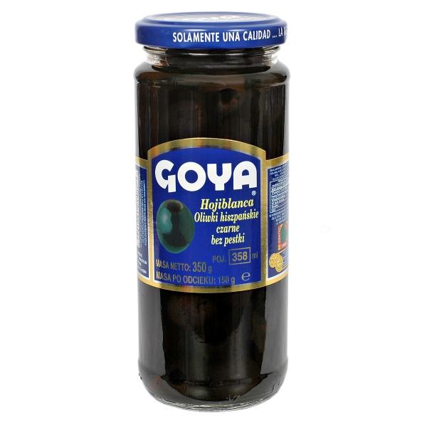 Oliwki czarne drylowane Goya