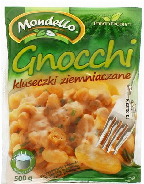 Gnocchi kluseczki ziemniaczane