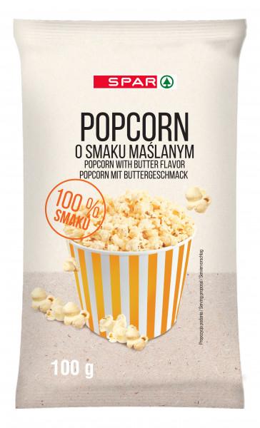 Spar popcorn o smaku maślanym