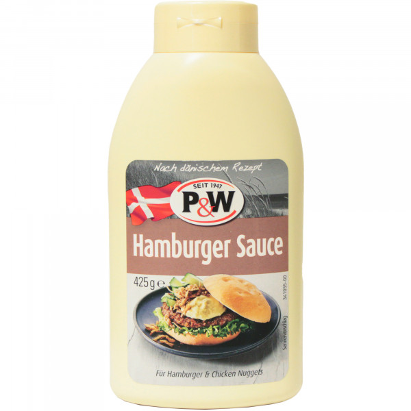 Sos do hamburger P&W