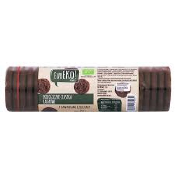 Ciastka z kawałkami czekolady wegańskie bio