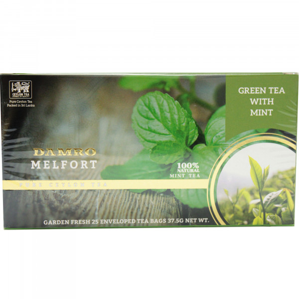 Herbata eksp.damro green tea with mint