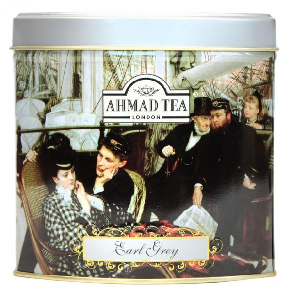 Herbata Ahmad Tea Earl Grey liściasta puszka