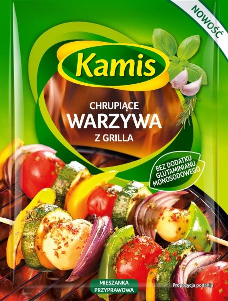 Grill chrupiące warzywa