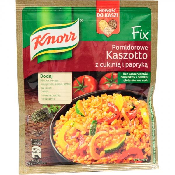 Fix Knorr kaszotto pomidorowe z cukinią i papryką
