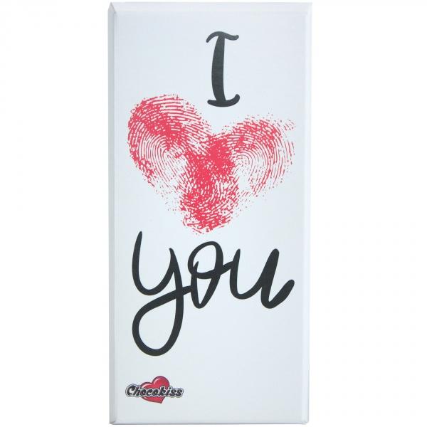 "Czekolada bezglutenowa Chocolips "" I love you """