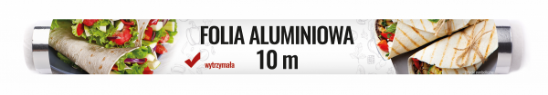 Spar folia aluminiowa 10m rolka