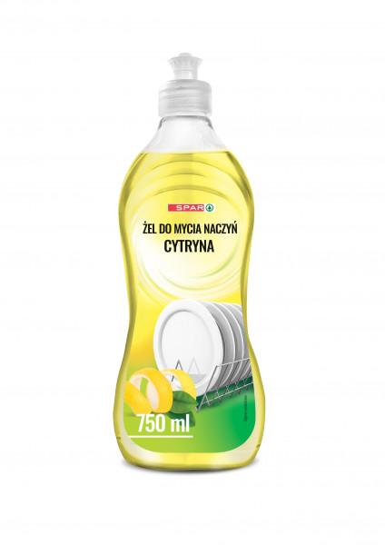 Spar żel do naczyń cytryna
