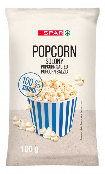 Spar popcorn solony