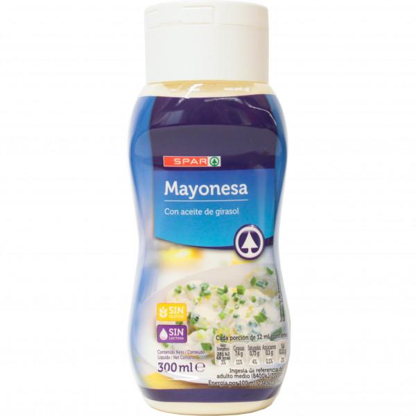 Spar majonez z olejem słonecznikowym bez glutenu bez laktozy