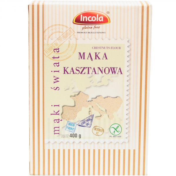 Mąka kasztanowa bezglutenowa Incola