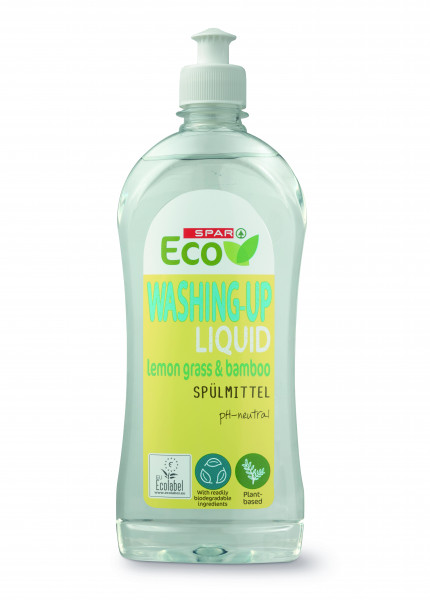 Spar eco płyn do mycia naczyń bambus i trawa cytrynowa