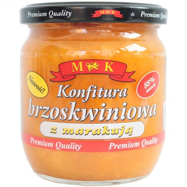Konfitura brzoskwiniowa z marakują mk