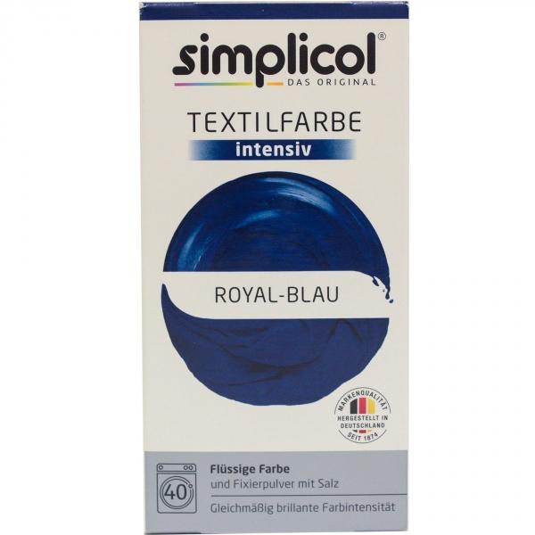 Simplicol barwnik do tkanin intensywny - niebieski kobaltowy