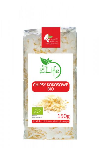 Chipsy kokosowe bio Biolife