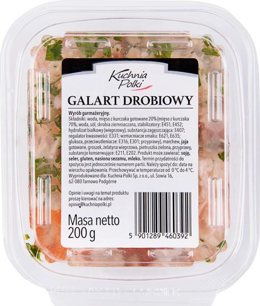 Galart drobiowy Kuchnia Polki