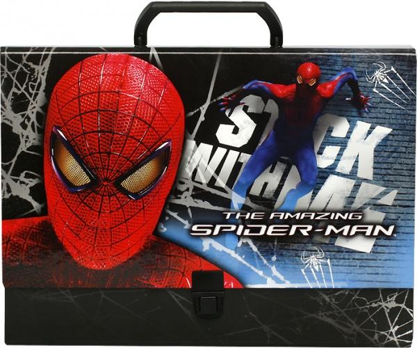 Teczka twarda z rączką amazing spider man