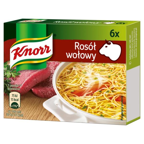 Bulion Knorr wołowy 3l
